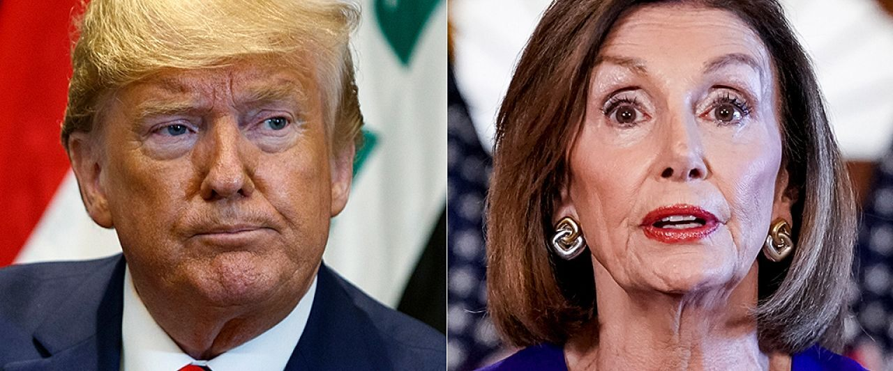 Trump to send Pelosi a letter 'daring' her to hold impeachment inquiry vote