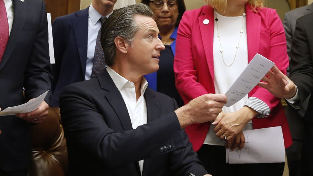 California's CRIMINAL Dem governor, Gavin Newsom, enacts toughest firearm seizure laws in US