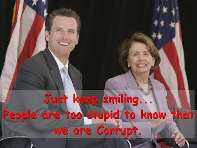 The 4 Corrupt Families Of California: Newsom, Brown, Pelosi & Feinstein