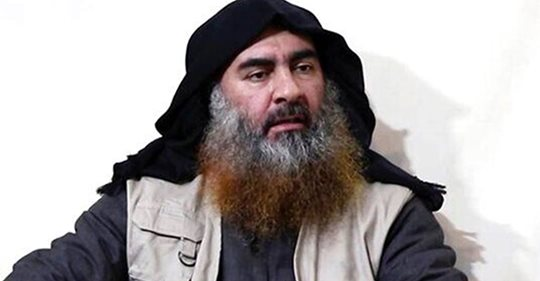 ISIS target believed to be Abu Bakr al-Baghdadi is killed in Syria: sources. MAJOR B/S.