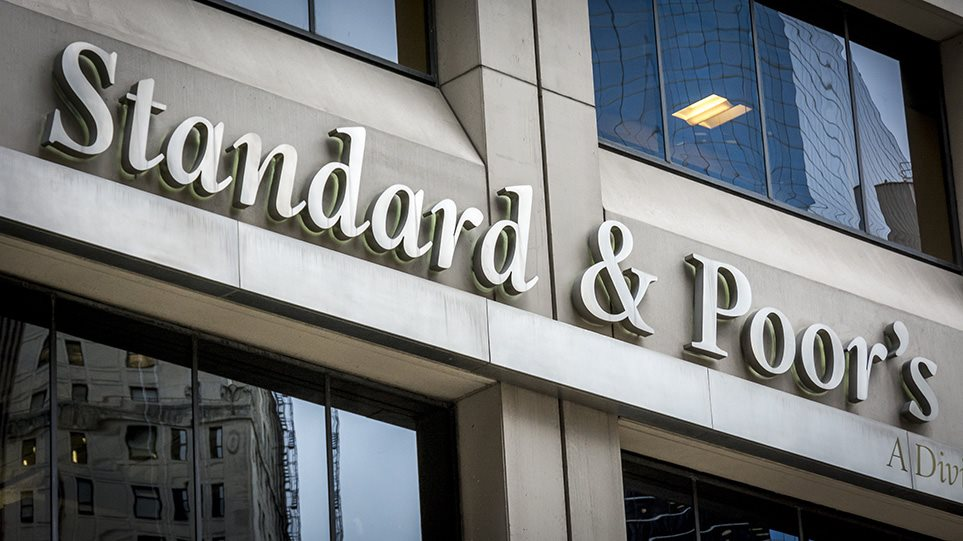 Standard & Poor's upgrades Greece's rating by 1 notch to BB-