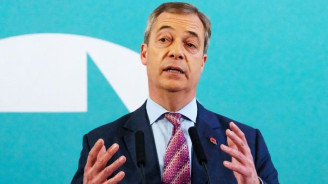 General election 2019: Brexit Party will not stand in Tory seats