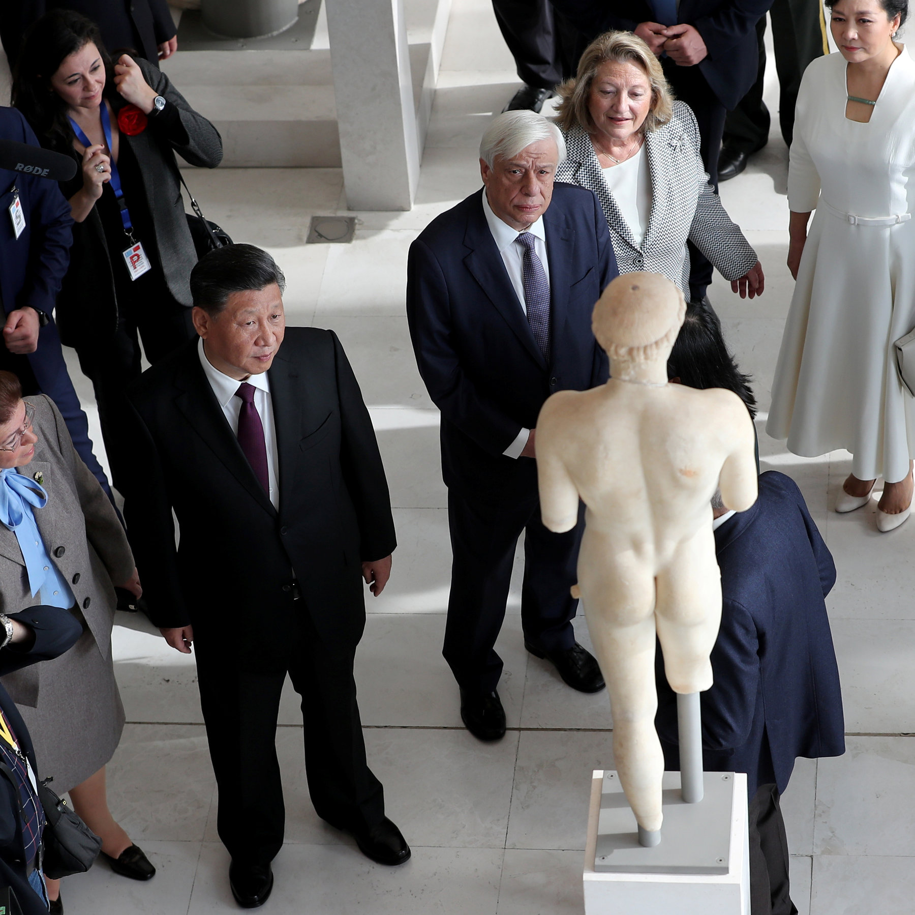 In Struggle Over Parthenon Marbles, Greece Gets Unexpected Ally: Xi Jinping