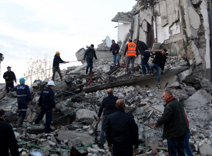 Albania Earthquake: Greece Sends Immediate Help to Assist Rescue Operations