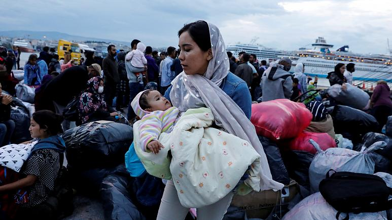 Greece tightens borders and will 'shut the door' on migrants not entitled to asylum