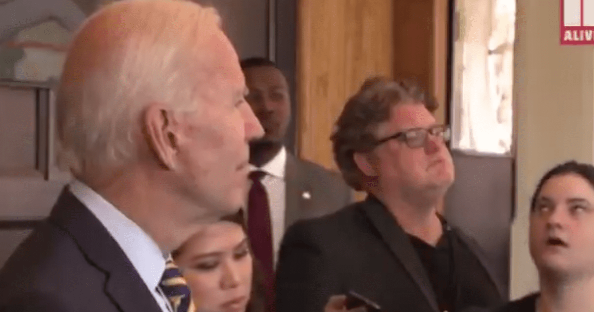 VIDEO: Joe Biden Angrily Responds After Reporter Asks About Hunter's Paternity Test Results