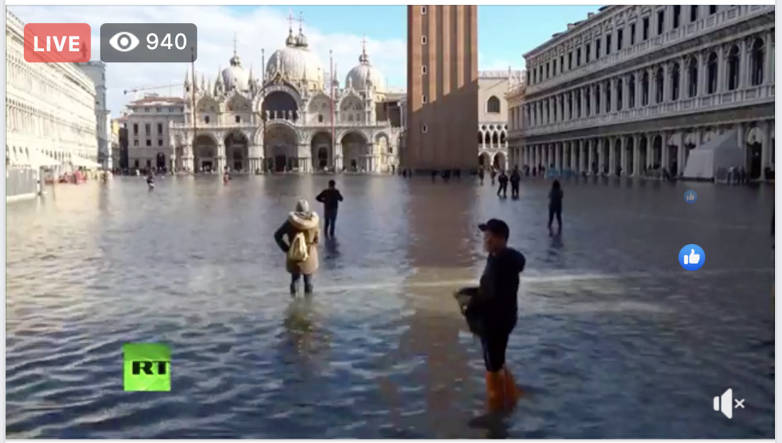 Venice flood 2019: Highest tide in 50 years