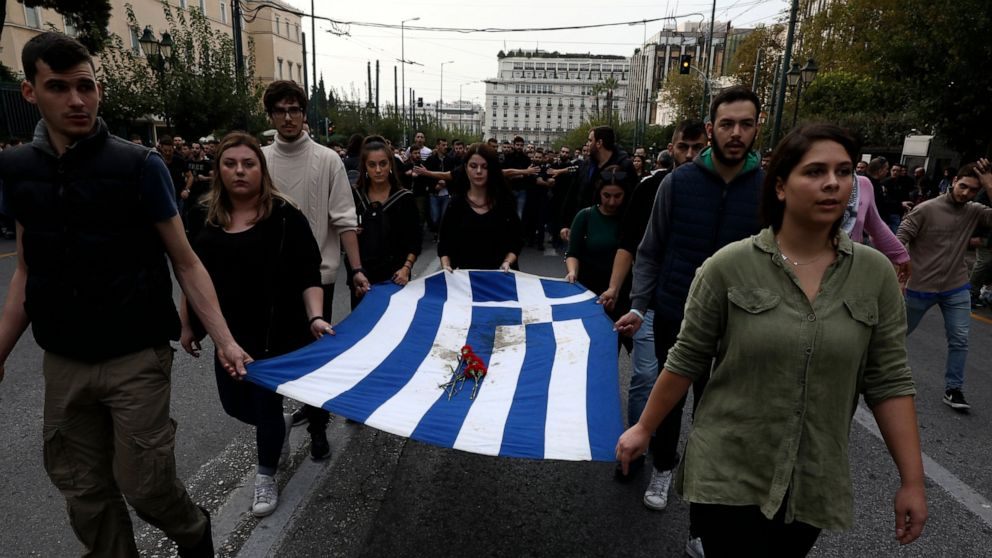 Greece marks 1973 student uprising anniversary; 28 arrested