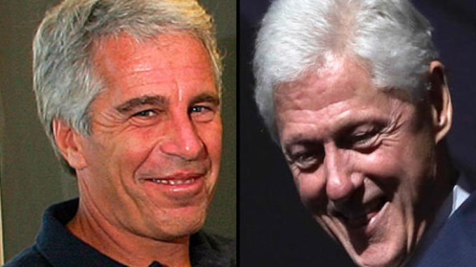 Epstein's 'Pedo Ranch' Featured Photo of Topless Underage Girls with Bill Clinton