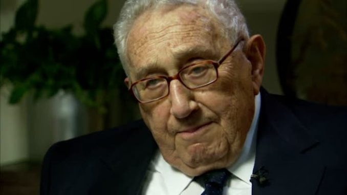"Kissinger: Inevitable Conflict Between USA and China ""Will Be Worse Than World Wars"""