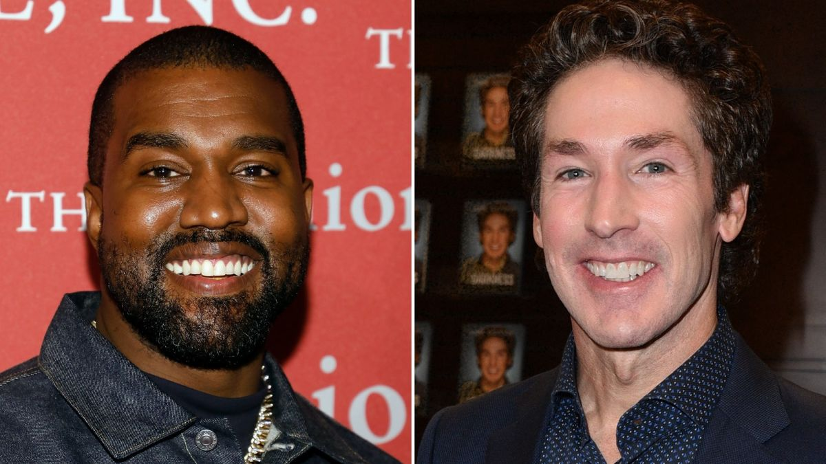 Kanye West (HERETIC) is set to appear at Joel Osteen's (HERETIC) church