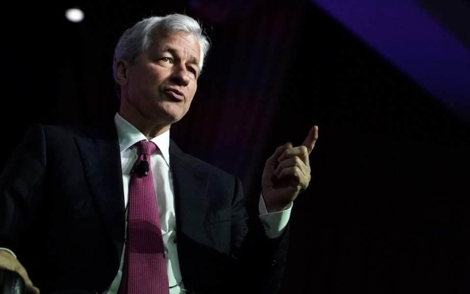 JPMorgan Chase CEO: Greece on right path to getting stronger