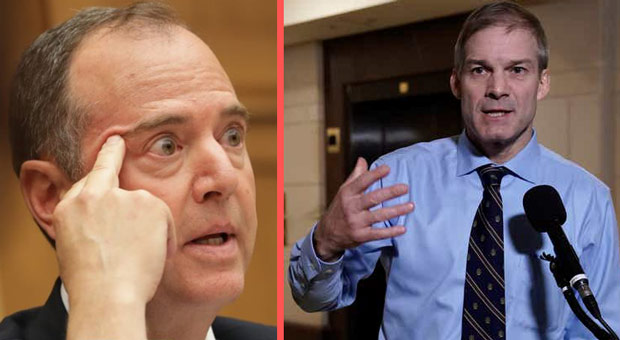 Checkmate: Jim Jordan to Subpoena Schiff's 'Whistleblower' to Testify in Public