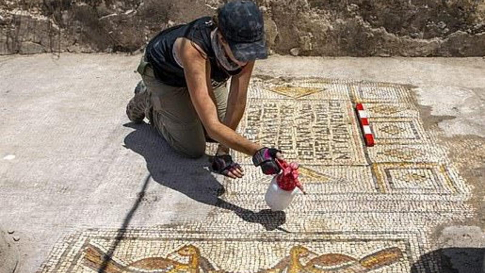 1,500-Year-Old Mosaic Depicts Jesus Feeding 5000 People Unearthed Near The Galilee Sea