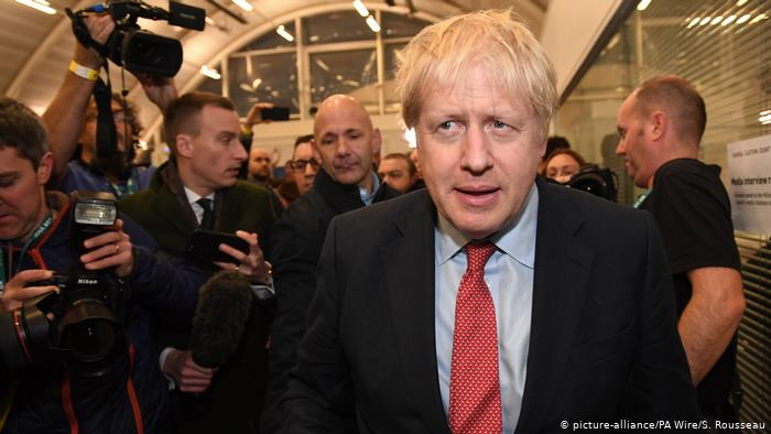 British PM Boris Johnson's Conservative Party wins 'historic' overall majority in UK's snap general election.