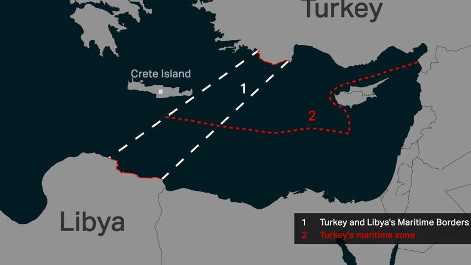 Turkish PROPAGANDA against GREECE & CYPRUS on ILLEGAL Turkey deal w/ Libya! Why did Turkey sign a maritime deal with Libya?