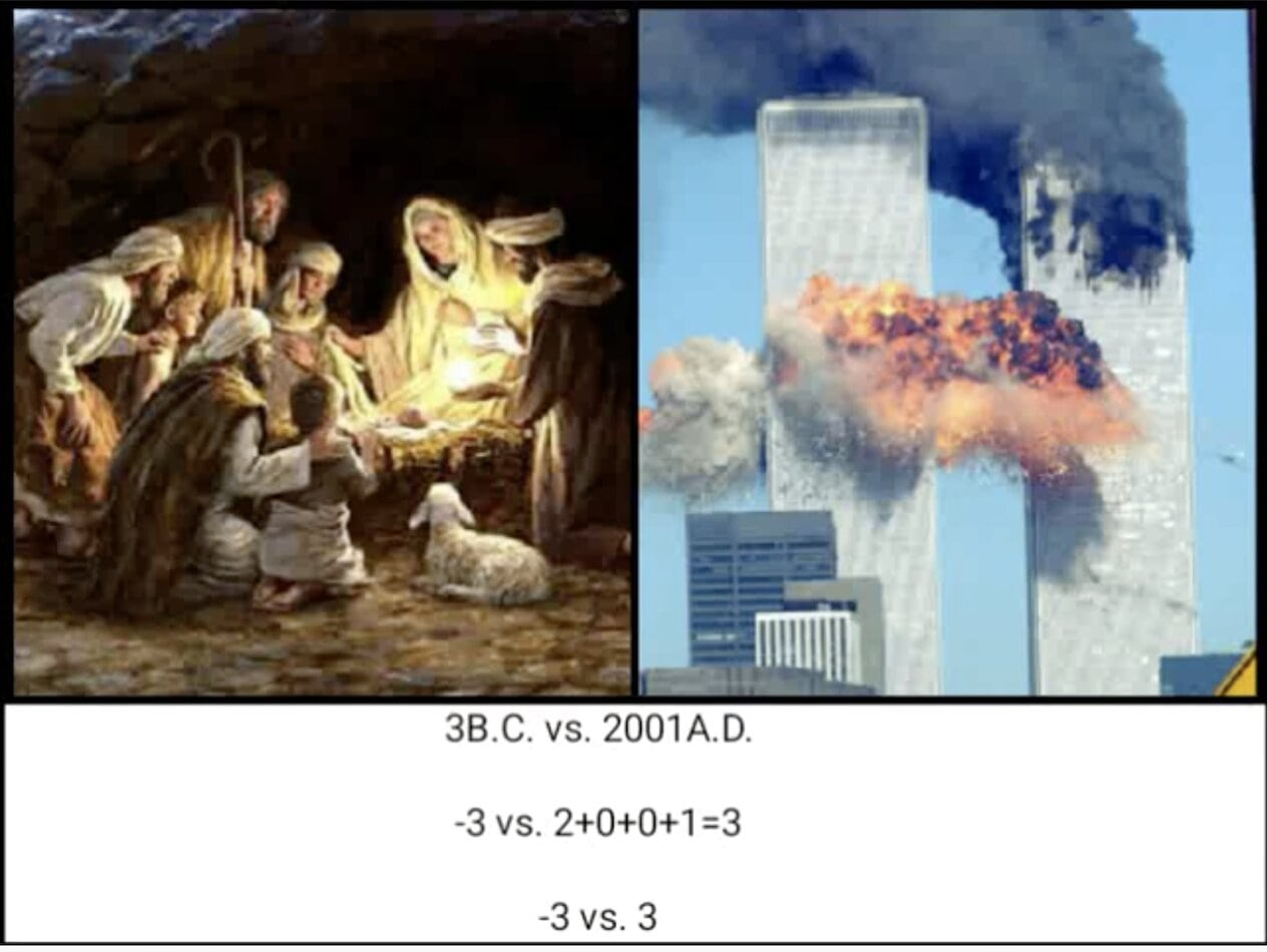Was Jesus born on 9/11? The Occult and Jesus: a Christian Perspective