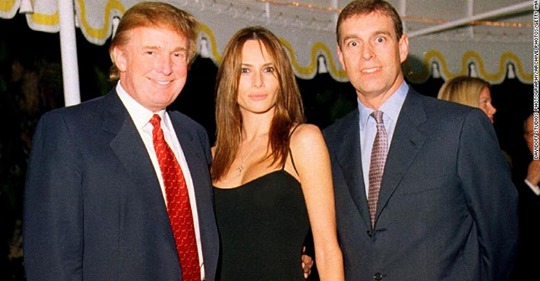 Trump says he doesn't know Prince Andrew. Photos tell a different story.