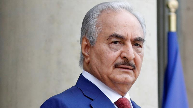 Libya's Haftar secretly flies to Greece ahead of Berlin summit