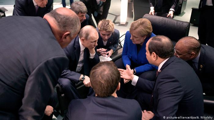 Berlin: Libya peace summit agrees on commitment to UN arms embargo
