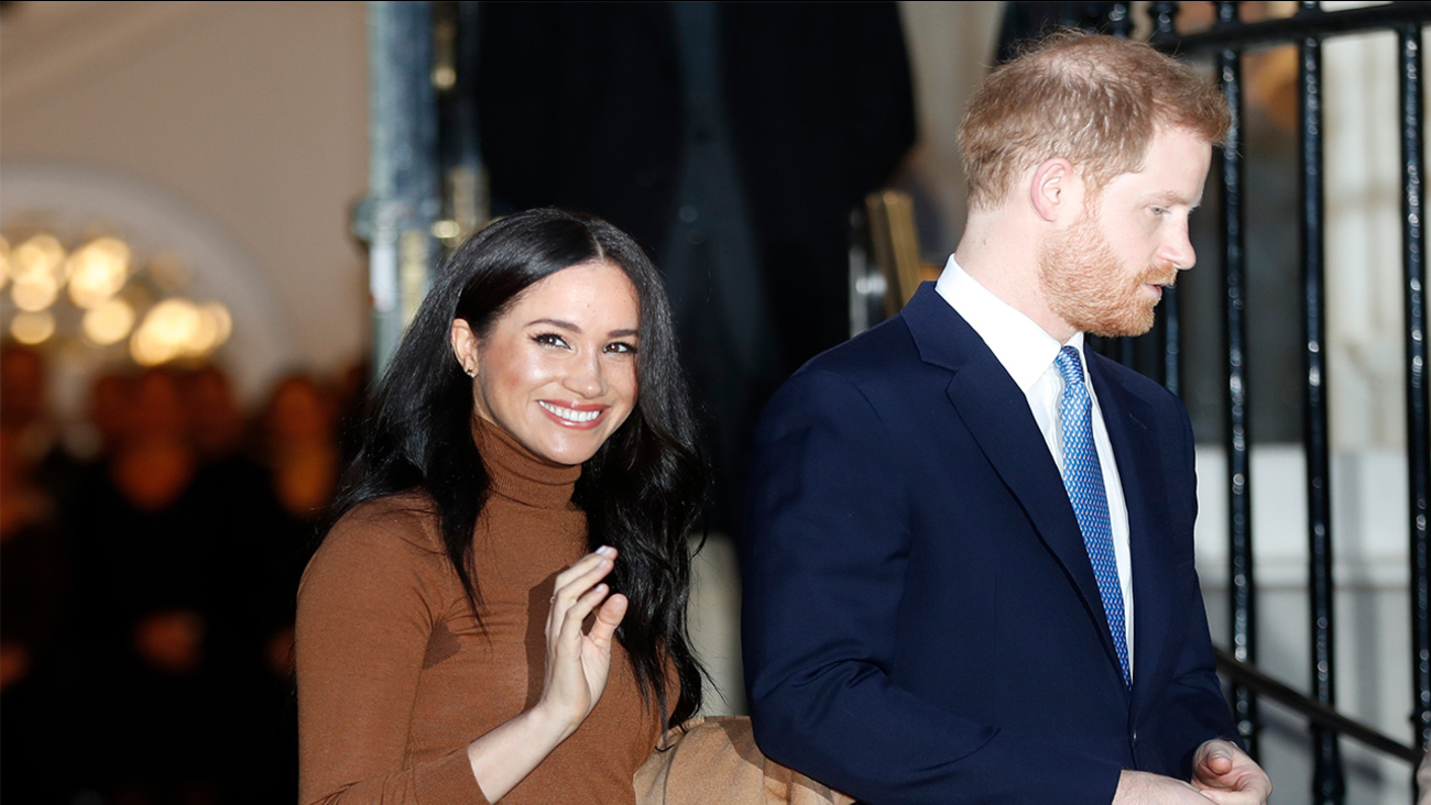 Meghan Markle and Harry are stepping back as 'senior' members of Royal Family