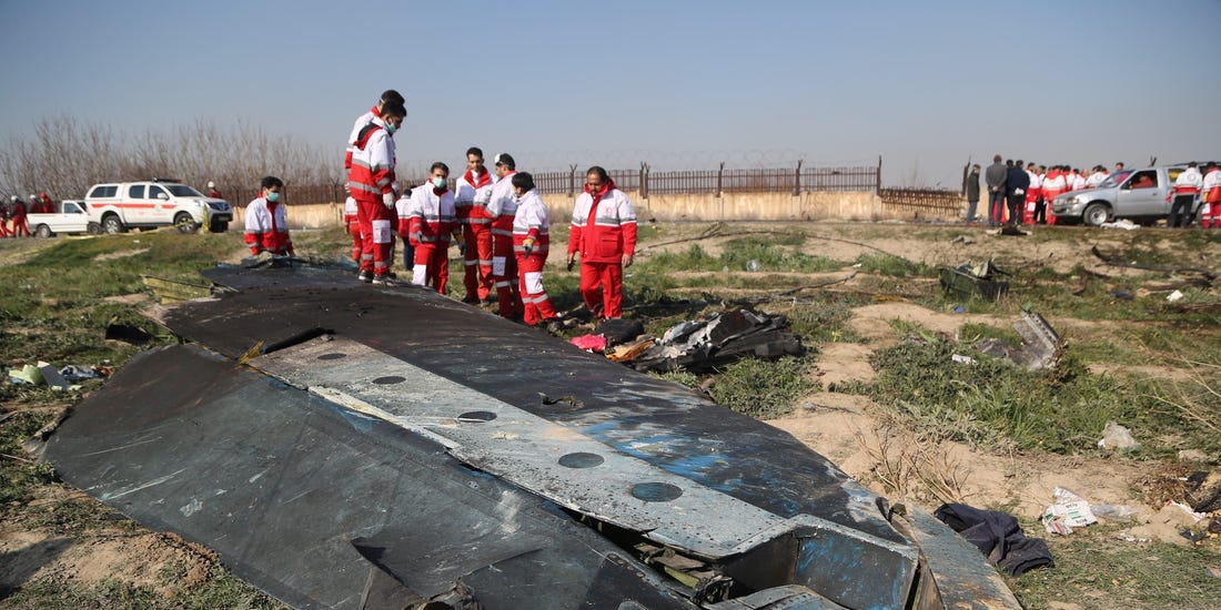 Iran says its military shot down Ukrainian plane in 'disastrous mistake'