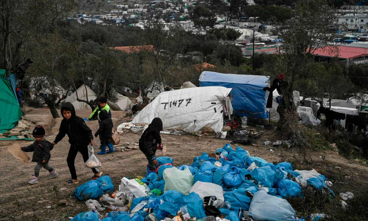 Greece urged to move 140 ill children from Lesbos refugee camp