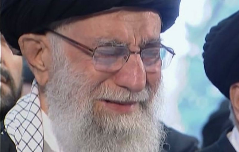 Iranian leader's tears a sign of respect for slain general