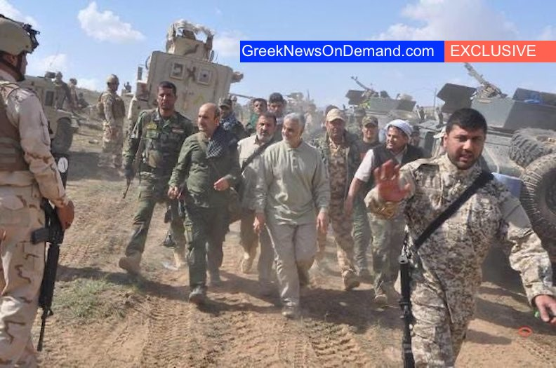 BOMBSHELL: Photo of #Soleimani hanging out with American soldiers while they all fought ISIS!!!
