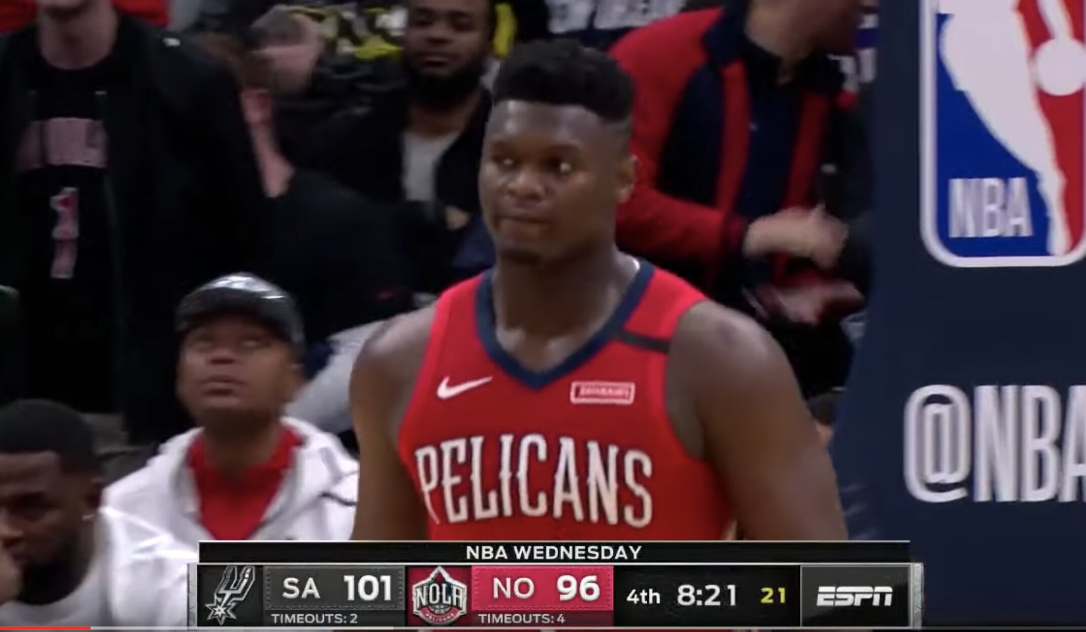 Zion Williamson in his NBA debut! – SPURS at PELICANS | FULL GAME HIGHLIGHTS | January 22, 2020