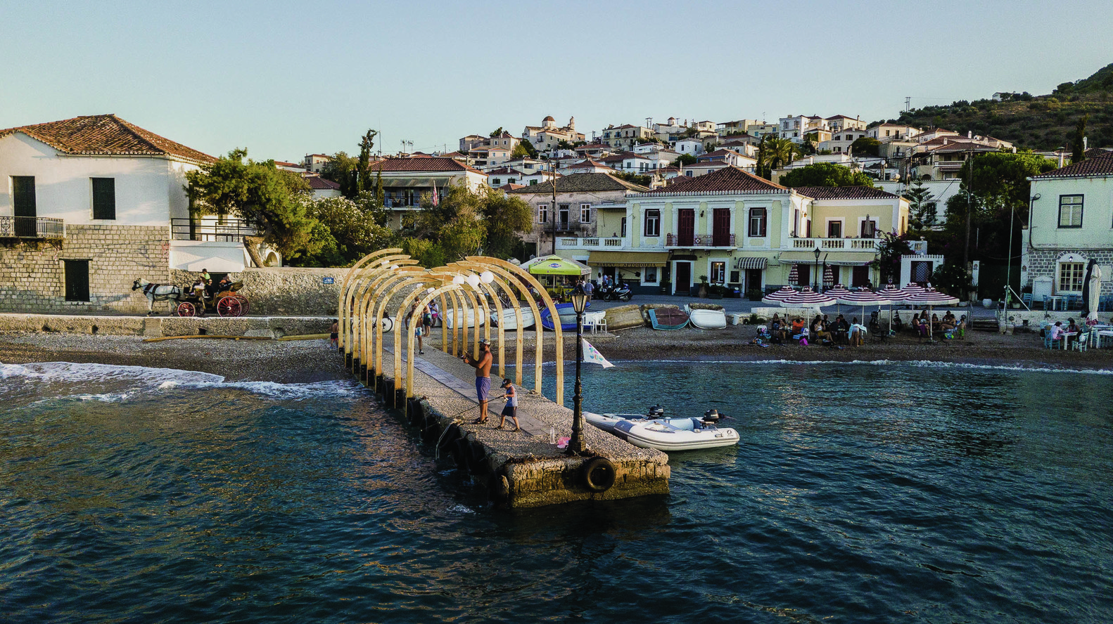 Meds Workshop Generates 14 Projects on the Island of Spetses in Greece
