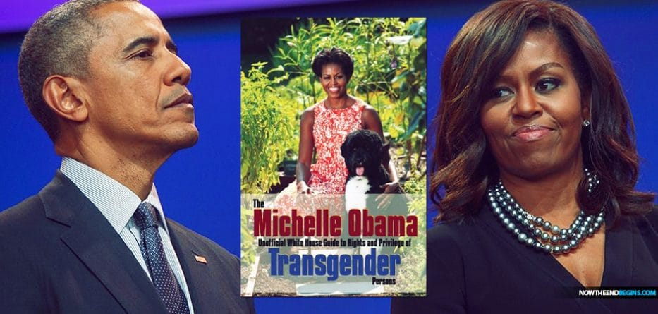 WHY IS NEW BOOK ABOUT TRANSGENDERS NAMED AFTER MICHELLE OBAMA?