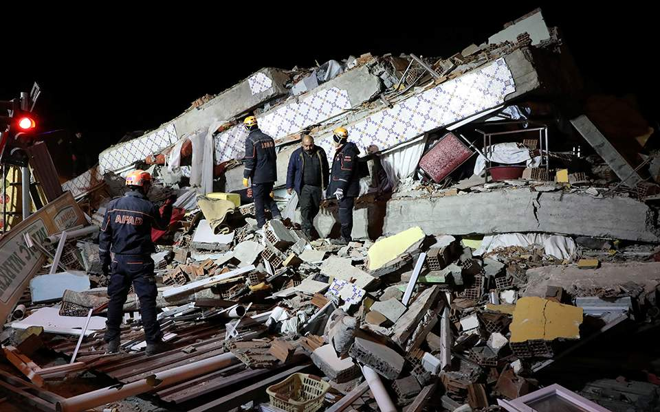 Greece is 'ready to assist' Turkey after deadly earthquake kills at least 21 people: Greek PM