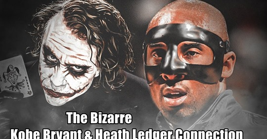 RussianVids: The Bizarre Kobe Bryant & Heath Ledger Connection