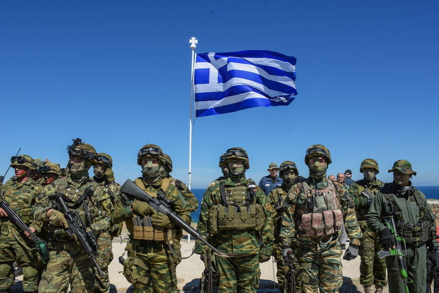 Greece 33rd in Global Ranking of Military Strength