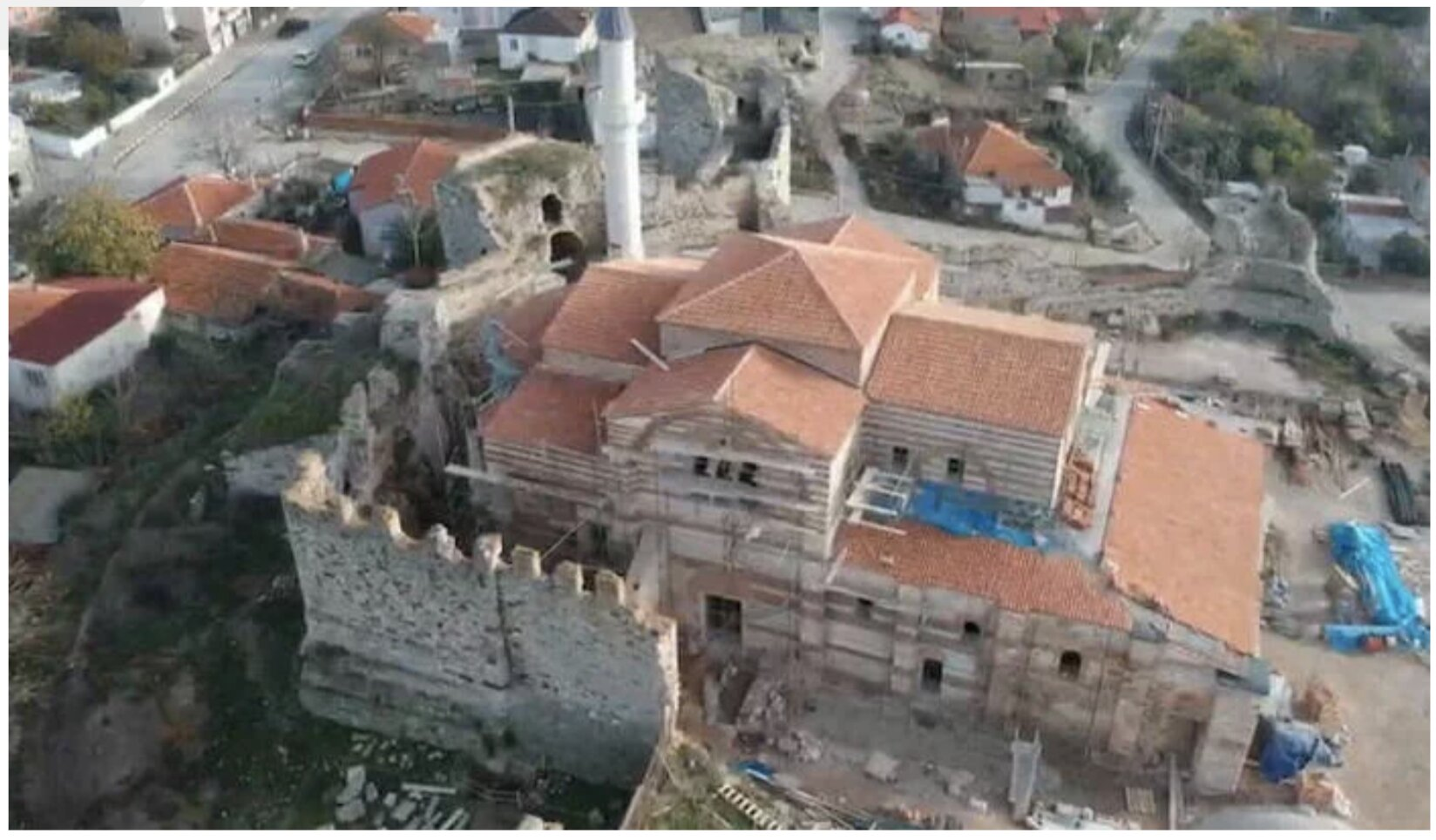 Turkey converts yet another ancient Greek church into a mosque