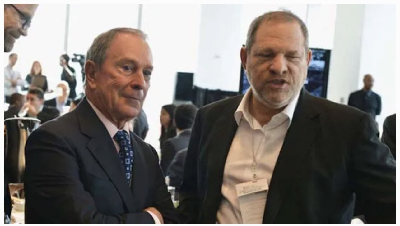 2013 Video: Serial Rapist Harvey Weinstein Thanks Bloomberg for Helping His Company