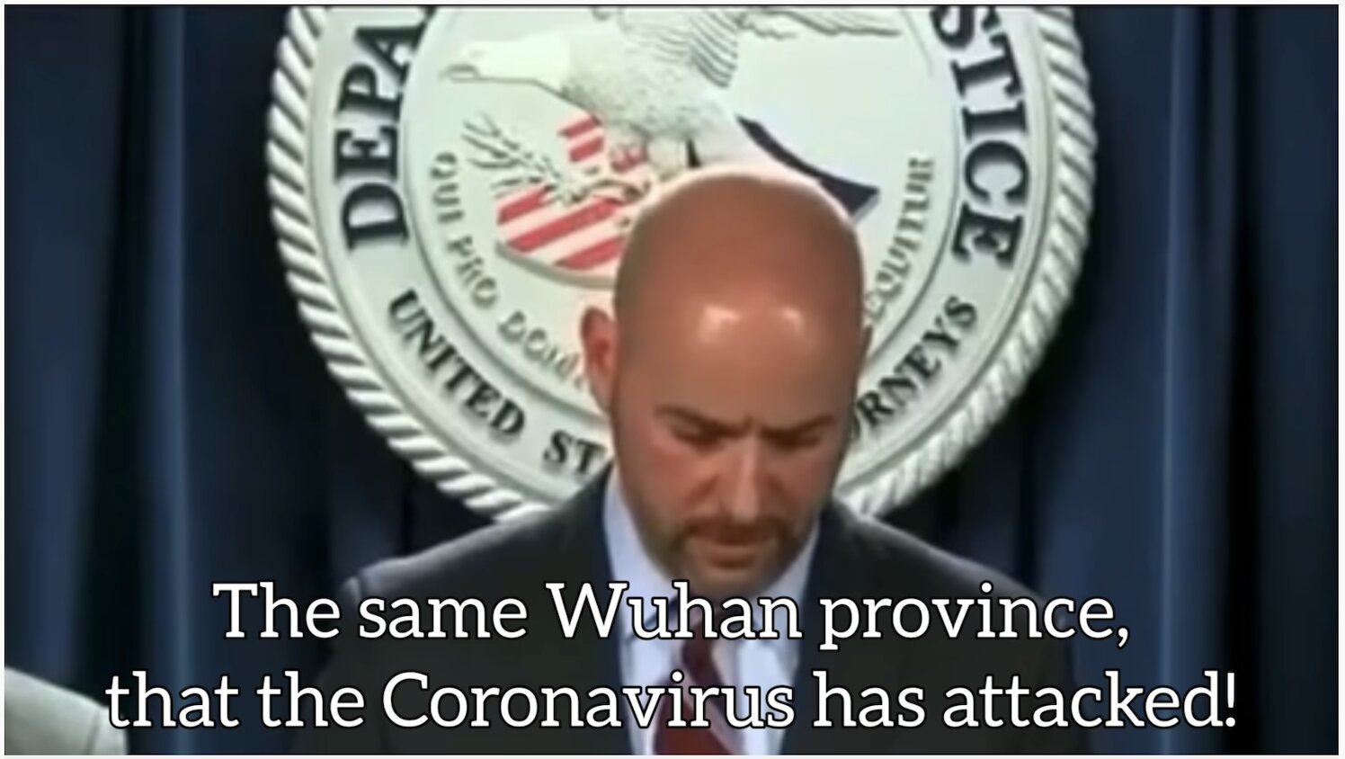 The Coronavirus was invented & patented in the USA and then Planted in China