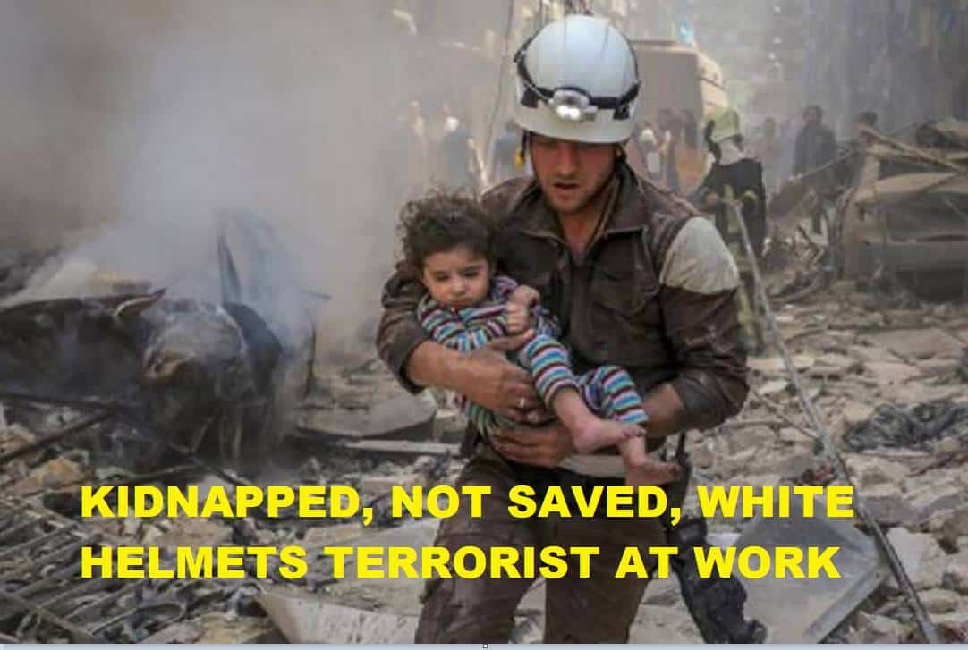Witnesses: White Helmets Finish Filming New Fake Gas Attack for Trump, Russia Will Retaliate…Against US