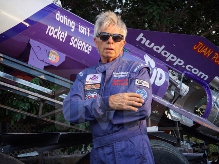 Flat earther DAREDEVIL 'MAD' MIKE HUGHES DEAD AT 64 … Fatal Rocket Crash Landing