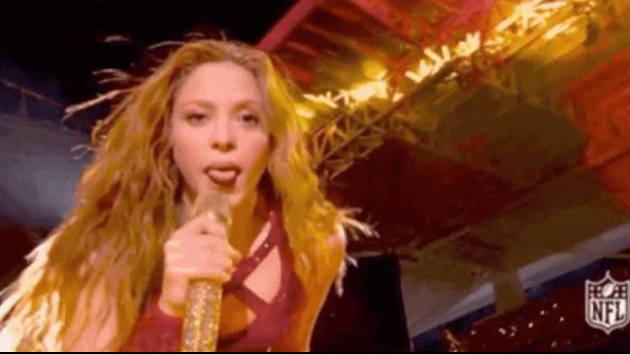 VILE: Shakira holds penis-shaped microphone at Super Bowl half-time show for the Illuminati