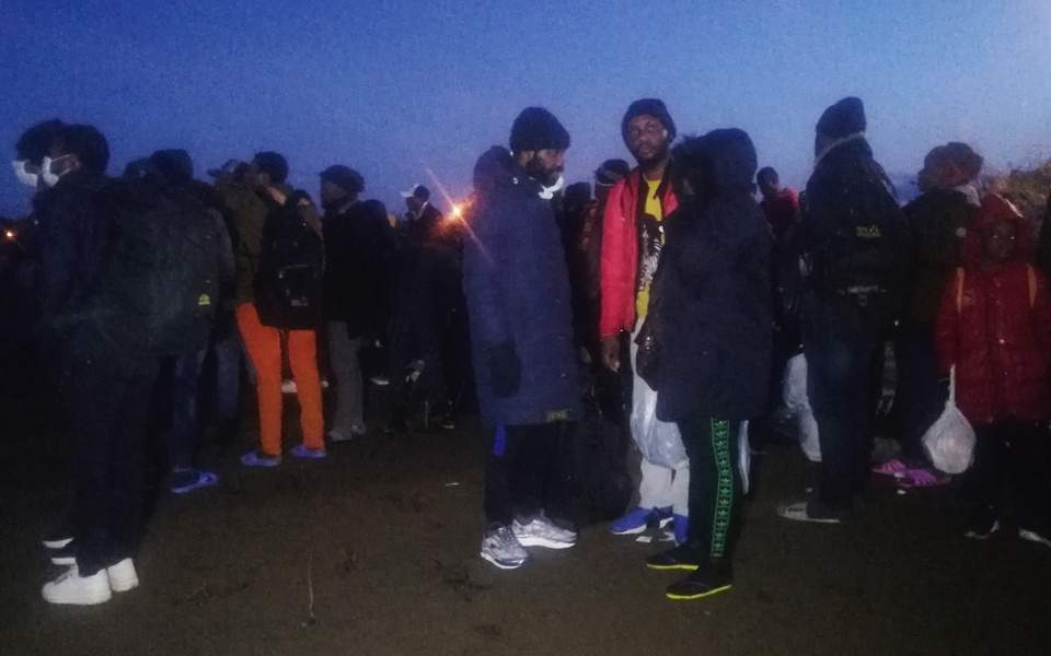 Hundreds of migrants in Turkey head towards EU borders, reports say