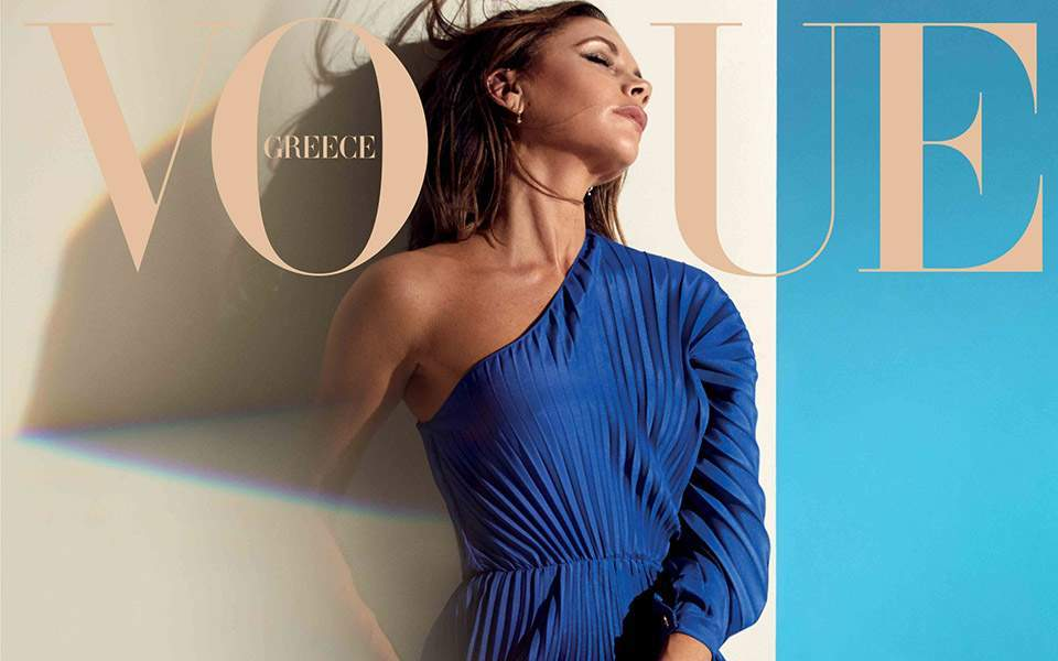 Victoria Beckham's Vogue Greece cover makes global headlines