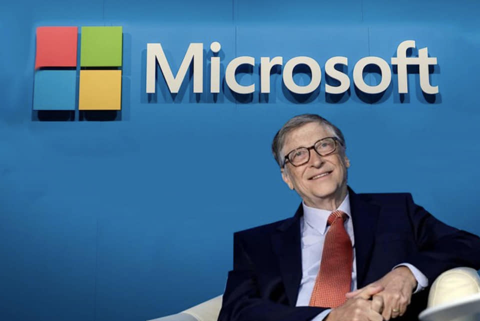 BILL GATES STEPS DOWN FROM MICROSOFT 3-13-2020