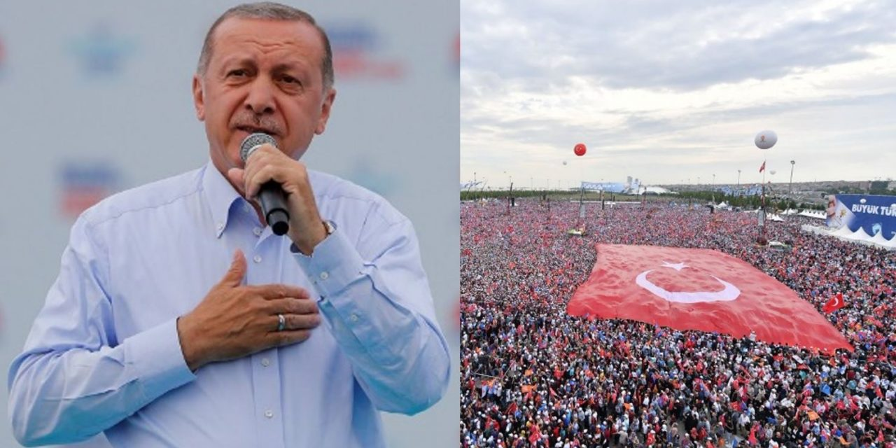 "Turkey's Erdogan warns of ""coming war between the cross and the crescent"""