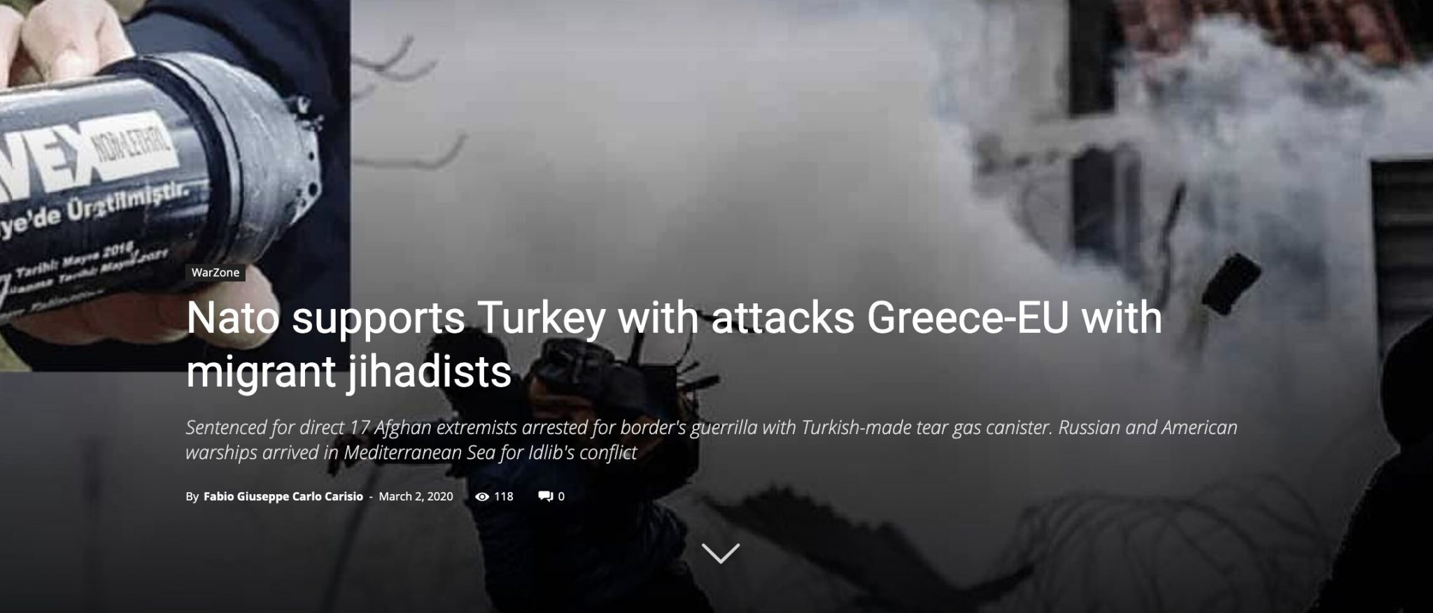Nato supports Turkey with attacks Greece-EU with migrant jihadists