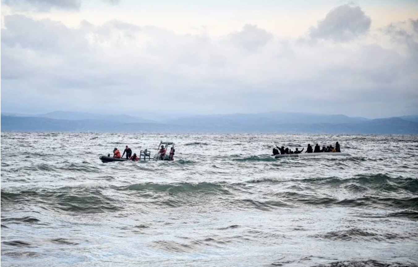 Greece says illegal migrant arrivals by sea from Turkey drop to zero