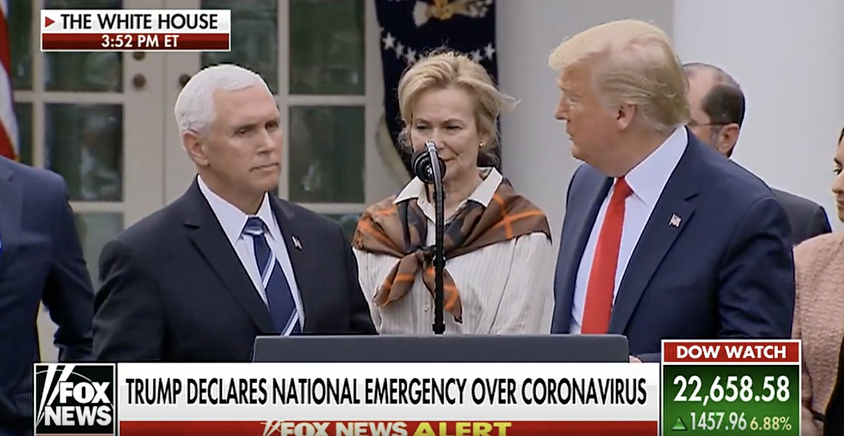 Trump declares National Emergency over coronavirus. Was calling it a…HOAX just weeks ago!!!