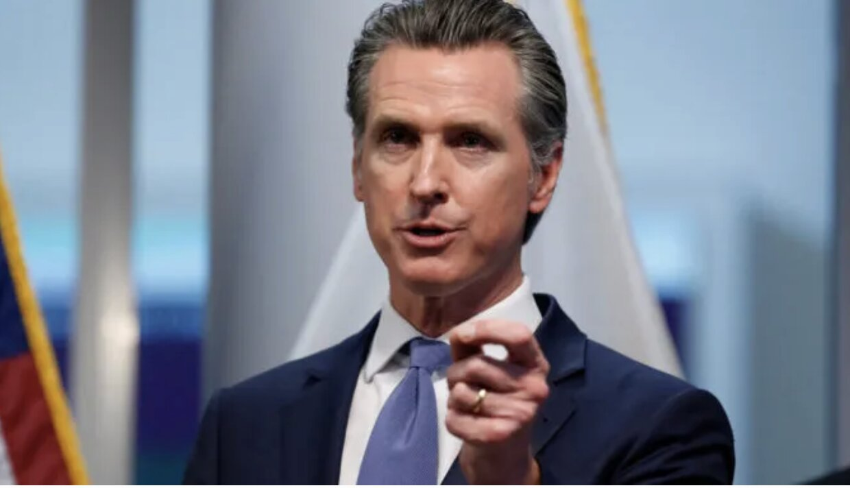 California Gov. Newsom Warns 'Martial Law' Is Possible Due To…FAKE Coronavirus