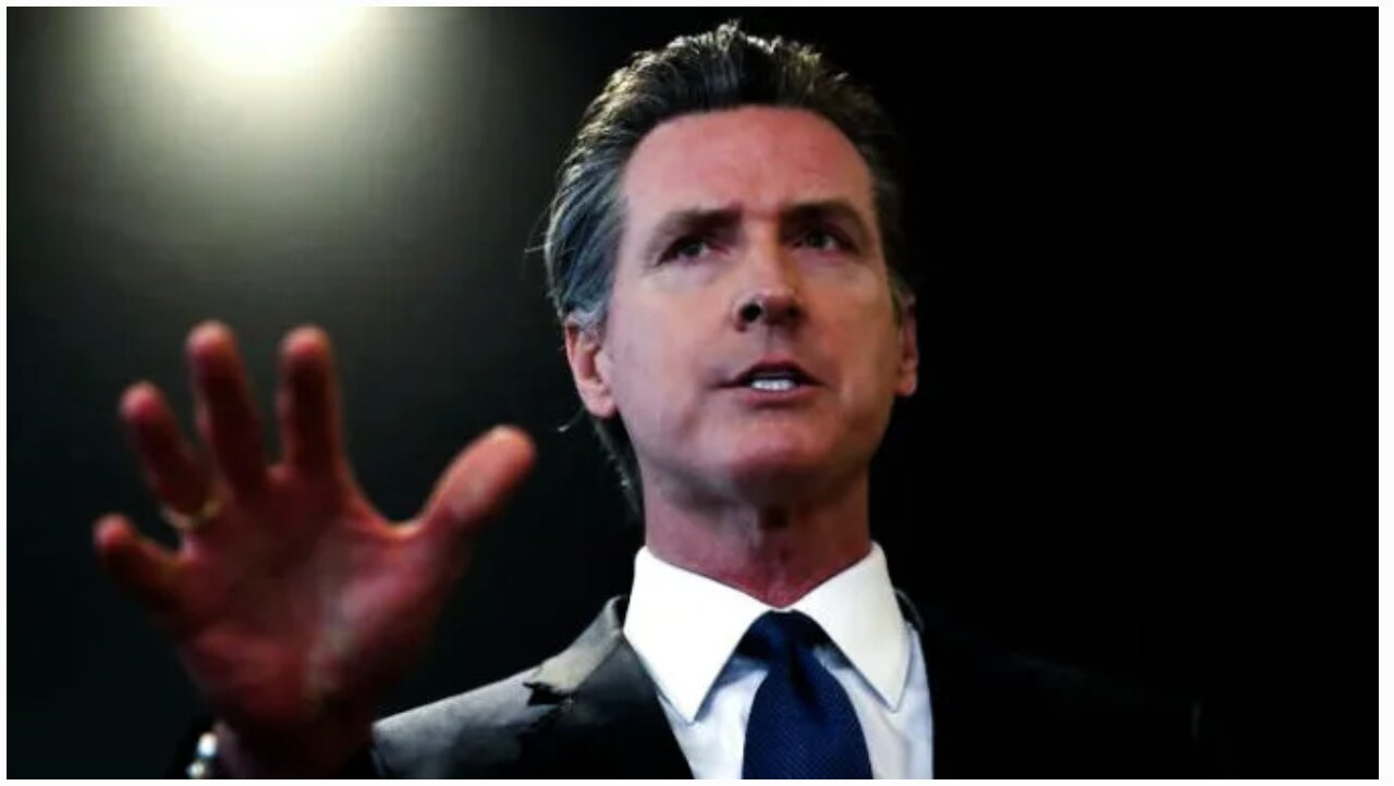 "TRATOR California Gov. Newsom Issues 'Stay at Home' Order to 40 MILLION Residents based on FAKE ""coronavirus""!!!"
